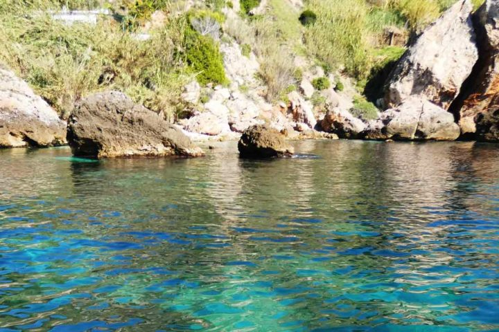 Boat Trip Nerja, crystal clear waters