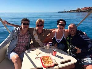 Snorkeling boat trip costa del sol boat tour torrox costa